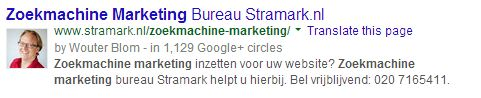 Zoekmachine Marketing Bureau Stramark.nl